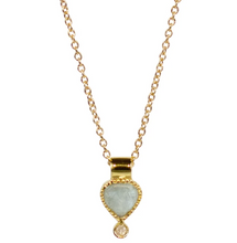Load image into Gallery viewer, Colette Necklace - Rose Quartz