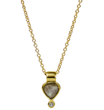 Load image into Gallery viewer, Colette Necklace - Labradorite