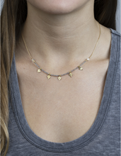 Load image into Gallery viewer, Lena Necklace -  Black Spinel