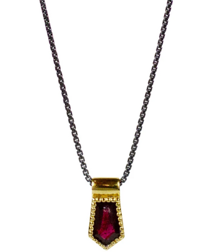 Nova Necklace - Garnet