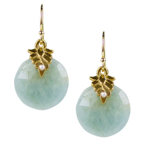 Portola Earrings - Aquamarine