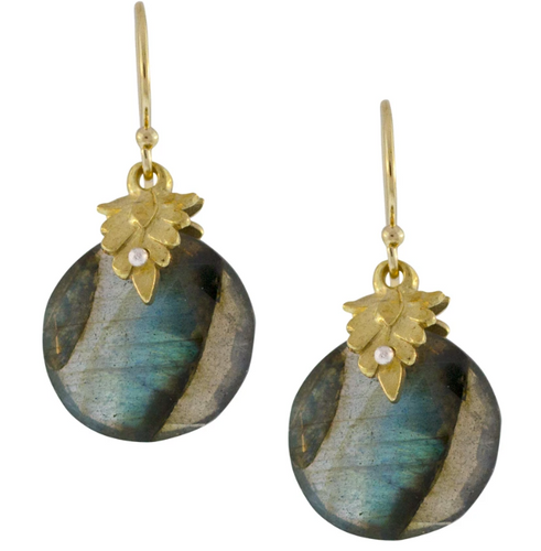 Portola Earrings - Labradorite