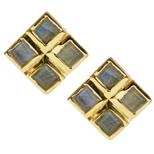 Load image into Gallery viewer, Xena Studs - White Topaz