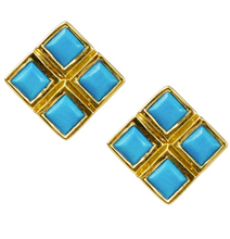 Load image into Gallery viewer, Xena Studs - Labradorite