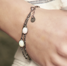 Load image into Gallery viewer, Mixed Moonstone Bracelet