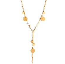 Load image into Gallery viewer, Zara Dot Lariat Necklace