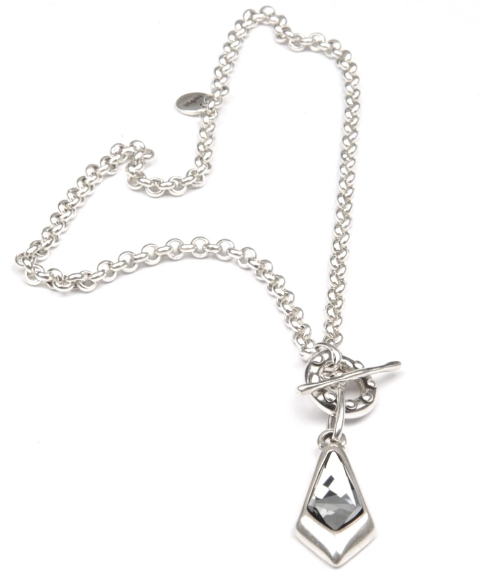Cenzia Necklace - Night Grey