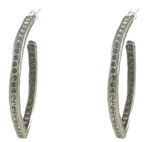 Athenia V-Shaped Hoops