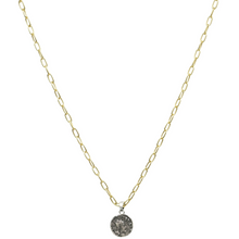 Load image into Gallery viewer, Silver Dainty Chain Link Frederick II Necklace