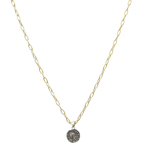 Silver Dainty Chain Link Frederick II Necklace