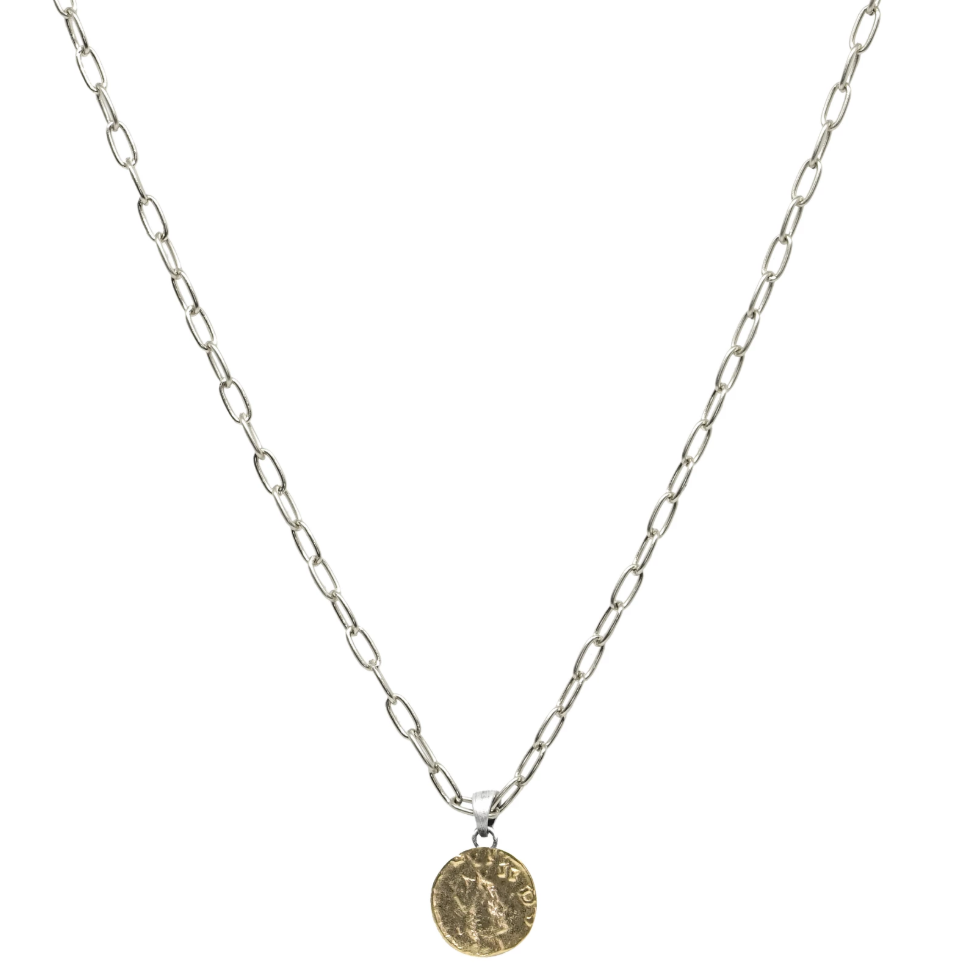 Gold Dainty Chain Link Frederick II Necklace