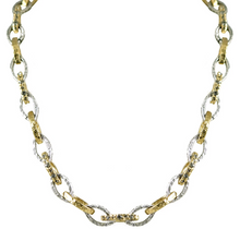 Load image into Gallery viewer, Gold & Silver Rinku Link Necklace
