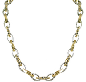 Gold & Silver Rinku Link Necklace