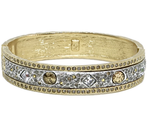 Vintage Gold Skhirat ID Bangle