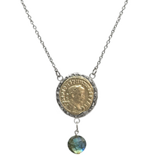 Load image into Gallery viewer, Maximianus Labradorite Necklace