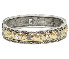 Load image into Gallery viewer, Vintage Gold Skhirat ID Bangle