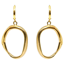Load image into Gallery viewer, Gold Loop Earrings