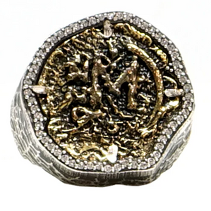 Silver Mini Molat Ring