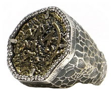 Load image into Gallery viewer, Silver Mini Molat Ring