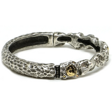 Load image into Gallery viewer, Silver Nugget Bangle