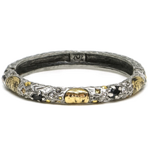 Load image into Gallery viewer, Gold Oval Empire Bangle