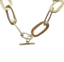 Load image into Gallery viewer, Two Tone Chunky Catena Necklace