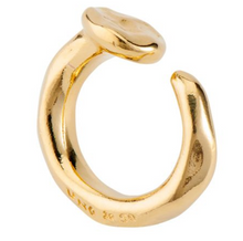 Load image into Gallery viewer, Gold Nail Ring