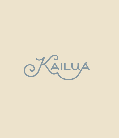 Hand Drawn Type- Kailua