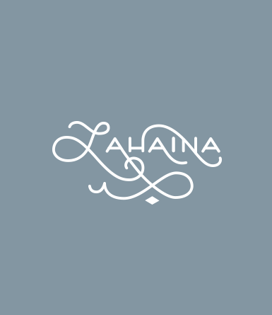 Hand Drawn Type- Lahaina