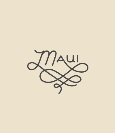 Hand Drawn Type- Maui