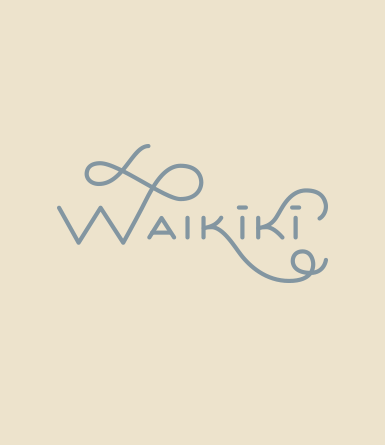Hand Drawn Type- Waikiki