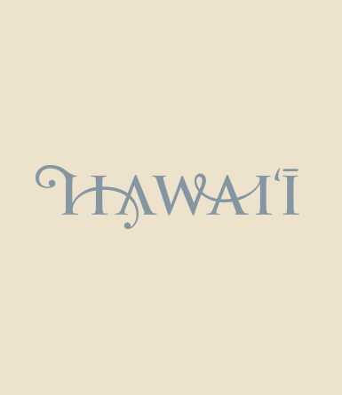 Hand Drawn Hawaii Type 1
