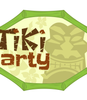 Party badge- Tiki party