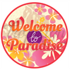 Badge- Welcome to Paradise