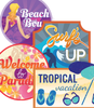 Beach badges