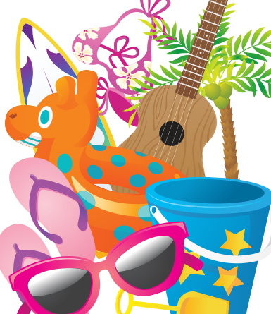 Beach Fun Variety Pack- vector
