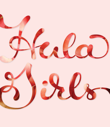 Hula Girls Hand Drawn Type