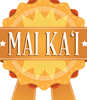Hawaiian Phrase Quality Badge- Mai Ka'i, Good job