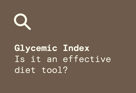 Glycemic Index Diet Modex Natural