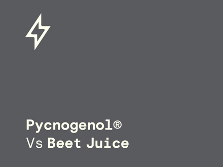 Pycnogenol Vs Beetroot Juice
