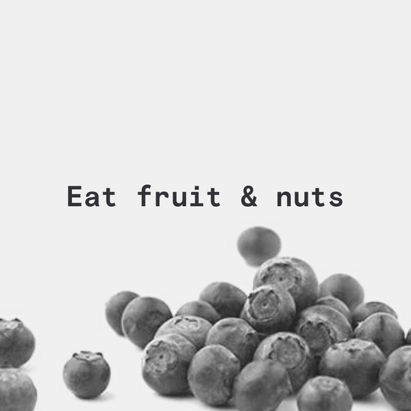 Fruit and nuts VO2max