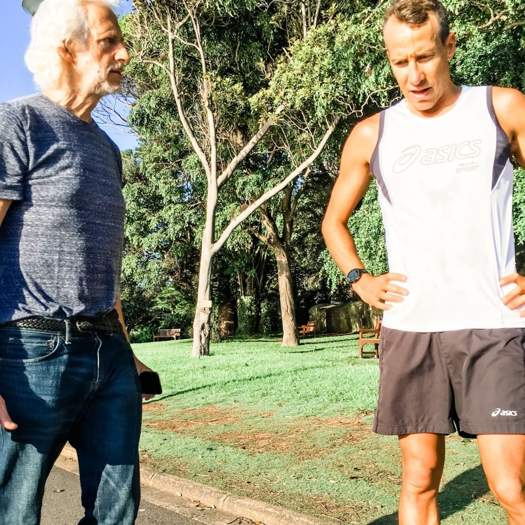 Pete Jacobs & Dr Phil Maffetone (exercise and sports medicine) Modex