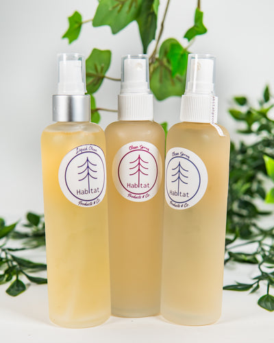 Liquid Plant Soap, Glass Bottle