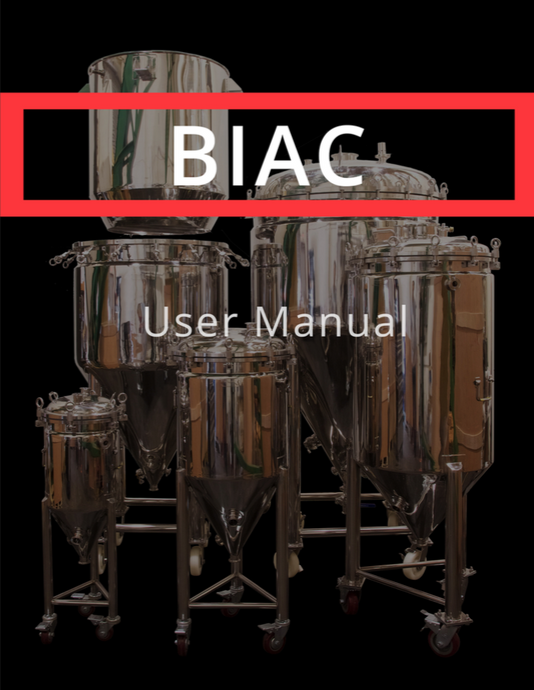 BREWHA BIAC Instruction Manual