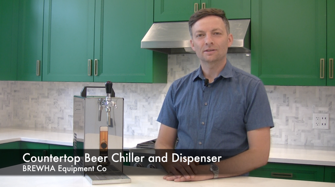 Countertop Beverage (Beer, Wine, Water etc.) Chiller and Dispenser