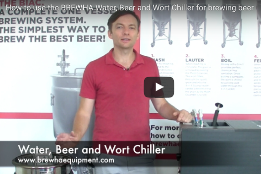Overview of the Water, Beer and Wort Chiller