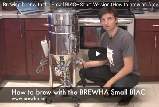 Brewing beer with the Small BIAC (Abridged)—American Blonde Ale