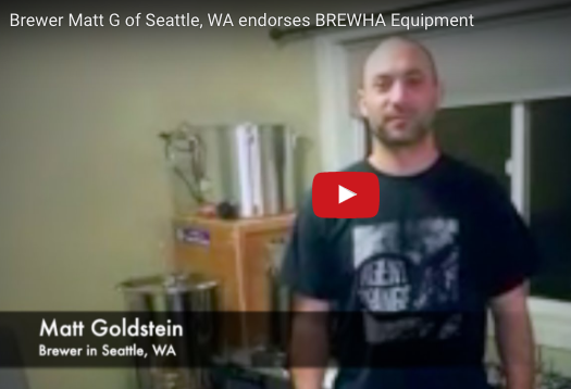 Matt Goldstein (Home brewer, Seattle, WA) endorses BREWHA