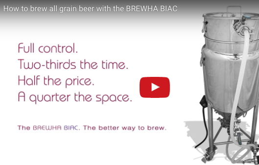 How to brew all grain beer with the BREWHA BIAC — 10 gallons of Saison in under 5 hours