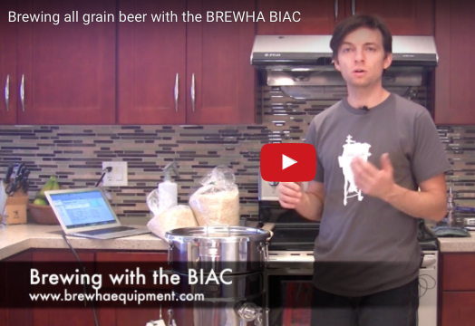 Brewing beer with the BREWHA BIAC